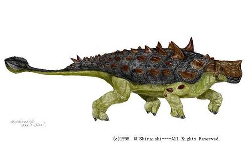 Euoplocephalus tutus Dinosaur - Herbivore Dinosaurs - Planet Dinosaur