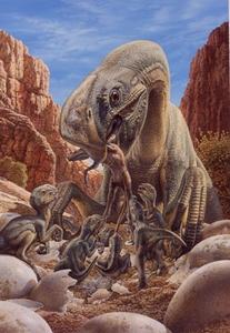 John Sibbick - Planet Dinosaur Paleo
